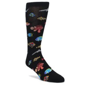 Tropical Fish Socks for Men by K Bell