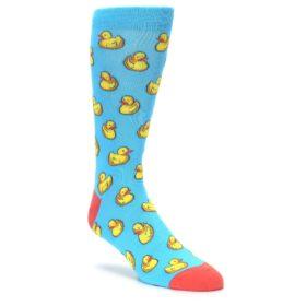 Men's Rubber Duck Socks by K Bell Socks Novelty