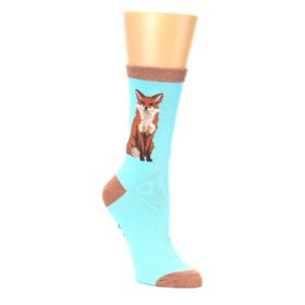Women's Red Fox Socks by K Bell