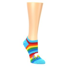 Rainbow Unicorn Ankle Socks for Women