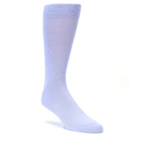 lavender pastel solid color mens dress socks from Bold Socks