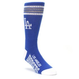 los angeles dodgers mens crew socks fbf