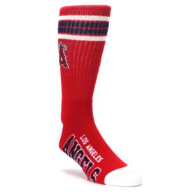 los angeles angels mens athletic socks fbf