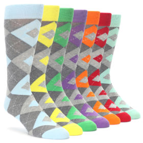 Heathered Argyle Sock Draw Makeover by Statement Sockwear