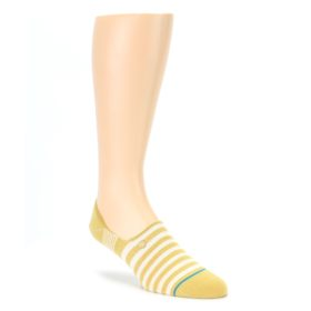 Pale Canary White Stripe Mens Liner Socks STANCE