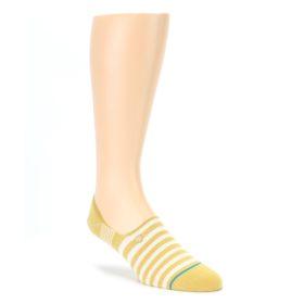 Pale Canary White Stripe Mens Liner Socks STANCE