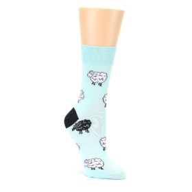23985-Mint-Black-Sheep-Womens-Dress-Socks-Good-Luck-Socks01