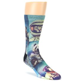 Animals Space Explorers Men's Casual Socks
