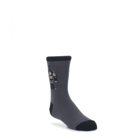 Gray Robot Kids Dress Socks Sock It To Me