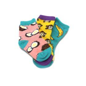 24247SS-12-24M-Spunky-Monkey-Toddler-Dress-Socks-3-Pairs-Socksmith01
