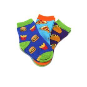 24249SS-12-24M-Fast-Foodie-Toddler-Dress-Socks-3-Pairs-Socksmith01