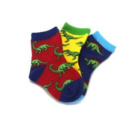 24241SS-12-24M-Dino-Mite-Dinosaurs-Toddler-Dress-Socks-3-Pairs-Socksmith01