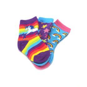 24245SS-12-24M-Unicorns-Rainbows-Toddler-Dress-Socks-3-Pairs-Socksmith01