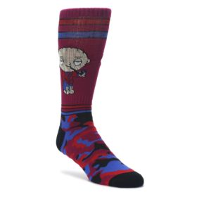 Family guy Stewie Camo Men's Casual Socks
