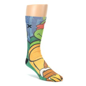 Ninja Turtles Raphael Mens Casual Socks Odd Sox