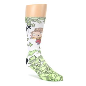 Family-Guy-Stewie-and-Brian-Dollars-Mens-Casual-Socks-Odd-Sox