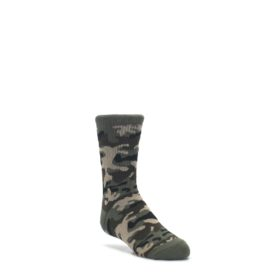 Green-Camo-Kids-Dress-Socks-K-Bell