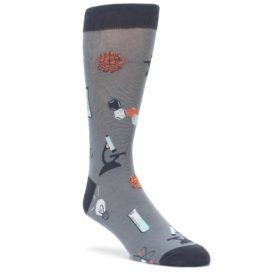 Gray-Science-Lab-Mens-Dress-Socks-Sock-It-To-Me