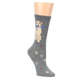 Gray-Dog-Walk-Womens-Dress-Socks-K-Bell-Socks