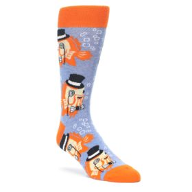 Men's Sophisticated Fish Socks by Statement Sockwear