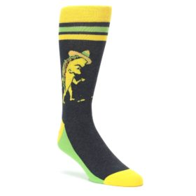 Walking Taco Socks for Men by Statement Sockwear
