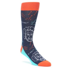Einstein Smart Socks for Men by Statement Sockwear