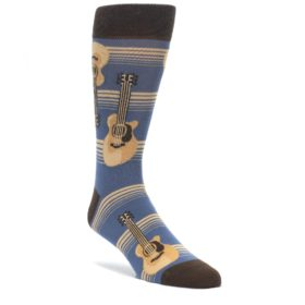 Men's Acoustic Guitar Socks by Statement Sockwear