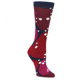 Navy-Maroon-Red-Lava-Womens-Dress-Socks-Ballonet-Socks