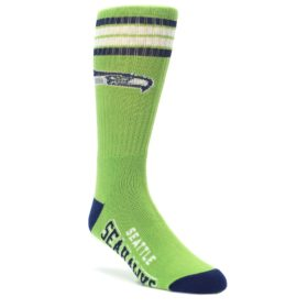 Seattle-Seahawks-Mens-Athletic-Crew-Socks-FBF