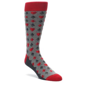 Casino Playing Card Suit Socks by Statement Sockwerar
