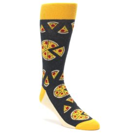 Pizza Socks for Men by Statement Sockwear