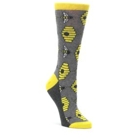 Ladies Honey Bee Socks for Women by Statement Sockwear