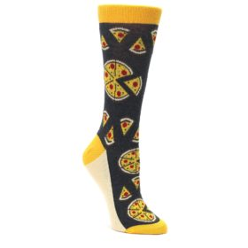 Women's Pizza Socks by Statement Sockwear