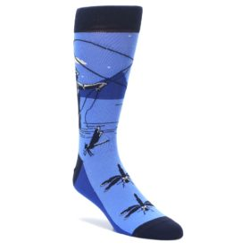 Fly Fishing Novelty Socks for men by Statement Sockwear