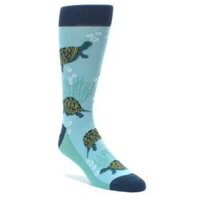 Men's Turtle Socks by Statement Sockwear
