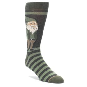 Green Gnome Socks by Statement Sockwear