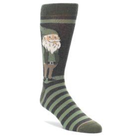 Green Gnome Socks by Statement Sockwear