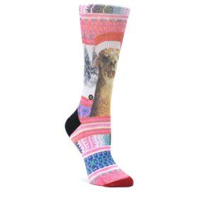 MEDIUM-Pink-Tinsel-Tina-Womens-Casual-Sock-STANCE