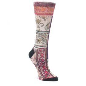 MEDIUM-Pink-Multi-Jasmine-Pattern-Womens-Casual-Sock-STANCE