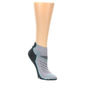 MEDIUM-Gray-Mint-Vibe-Womens-Ankle-Athletic-Socks-Swiftwick