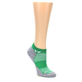 MEDIUM-Gray-Green-Maxus-Womens-No-Show-Athletic-Socks-Swiftwick