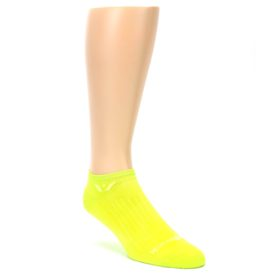 LARGE-Neon-Solid-Zero-Mens-No-Show-Athletic-Socks-Swiftwick