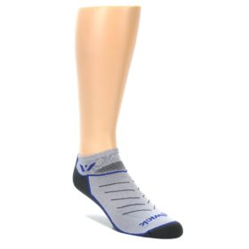 Gray-Blue-Vibe-Zero-Mens-No-Show-Athletic-Socks-Swiftwick