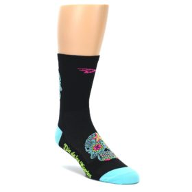 DeFeet Sugar Skull Performance Socks for Men Cycling