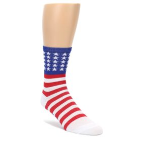 Men's American Flag DeFeet Cycling Socks
