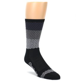 DeFeet Charleston Gray Dashes Men's Socks