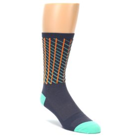 DeFeet Men's Socks Net Graphite