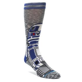 Gray-Blue-R2-D2-Star-Wars-Mens-Casual-Socks-STANCE