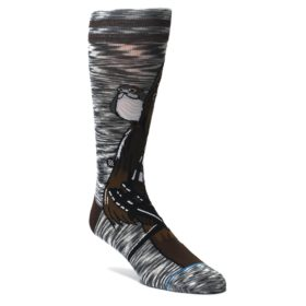 Brown-Chewie-Pal-Star-Wars-Mens-Casual-Socks-STANCE