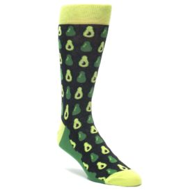 Avocado Socks for Men by Statement Sockwear